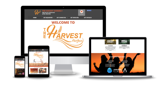 WEBSITE  - The Harvest Assembly of God Church, Oak Grove, AR